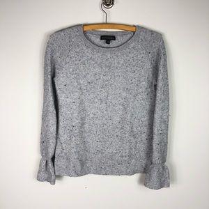 Banana Republic Cashmere Blend Bell Cuff Sweater